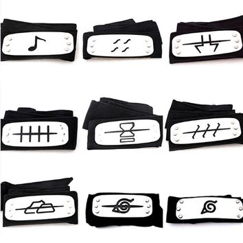 95cm Naruto headband leaf village cosplay 1:1 toys