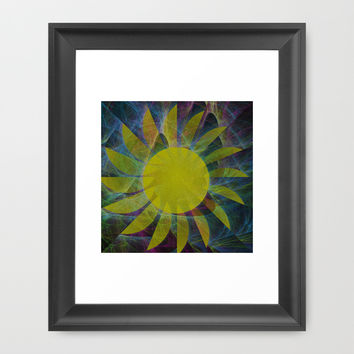 You Are My Sunshine Framed Art Print by Kathleen Sartoris