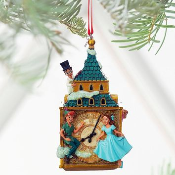 Licensed cool 2016 Disney Store Peter Pan & Darling Children Sketchbook  Christmas Ornament