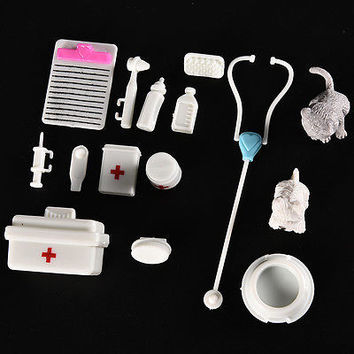 1 Set Pets Medical Kit Fashion Princess Girls Doll Accessories Toys Girls