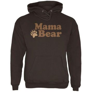 LMFCY8 Mothers Day Mama Bear Mens Hoodie