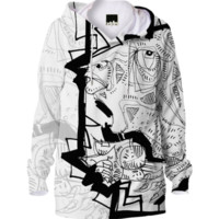 Being Sketched hoodie created by 5wingerone | Print All Over Me