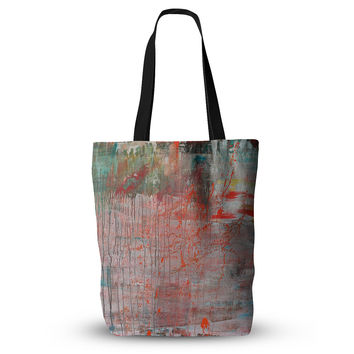 "Iris Lehnhardt ""Mots de La Terre"" Splatter Paint Everything Tote Bag"