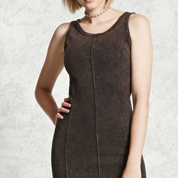 Paneled Seam Tank Dress