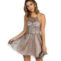 Rene-Gray Homecoming Dress