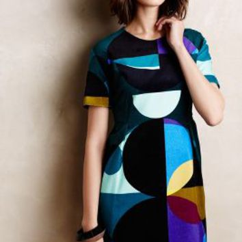 Kipale Circle Dress by Marimekko Black Motif