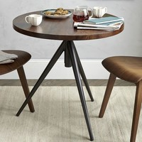 Round Adjustable Bistro Table