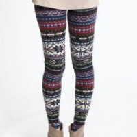 Rustic Winters Knit Leggings | Modern Vintage New Arrivals