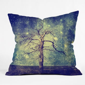 Belle13 As Old As Time Outdoor Throw Pillow