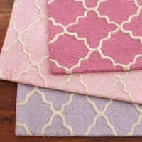 Addison Rug - Light Pink | Pottery Barn Kids