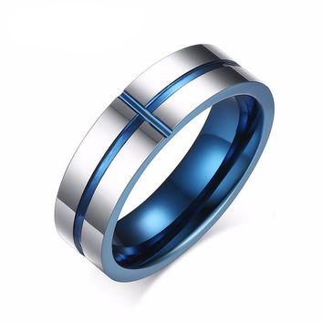 Wedding Bands Jewelry Cross Ring