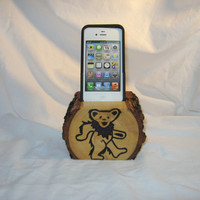 iPhone 4 or iPhone 5 Dock Station  Stand  by BearWitnessTechTote