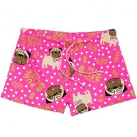David & Goliath Womens Pug Life Shorts