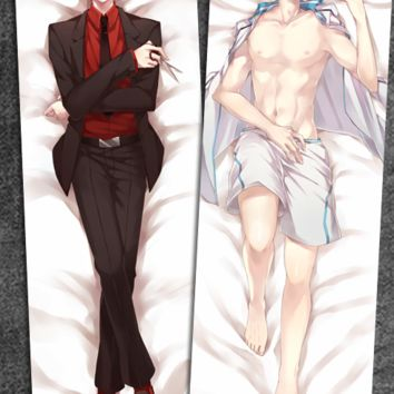 New  Seijuro Akashi Kuroko no Basuke Male Anime Dakimakura Japanese Pillow Cover Limited Edition