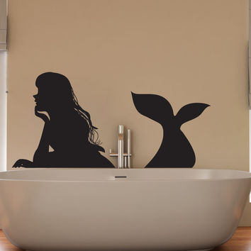 Best Mermaid Vinyl Decal Products on Wanelo
