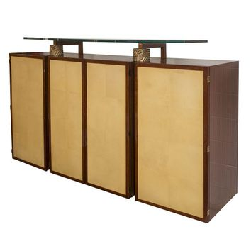 "Pre-owned ""Cuba"" High Cabinet by Dakota Jackson"