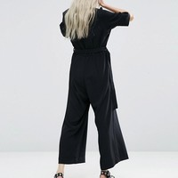 Weekday Jumpsuit with Buckle at asos.com