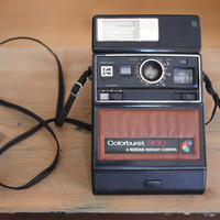vintage instant camera Coloburst 300 by Polaroid