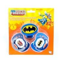 Batman Pacifier Clip 3 Pk