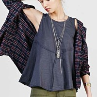 Ecote Exposed Seam Tunic Top-