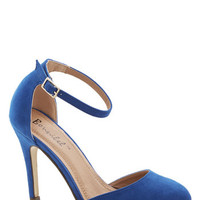 Dinner and Dancing Heel in Blue