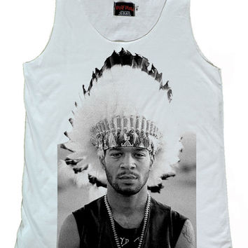 Kid Cudi Rapper Hip Hop Tank Top Size S,M,L,XL