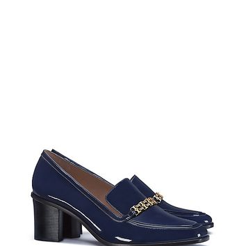 Tory Burch Gemini Link Patent Mid-heel Loafer