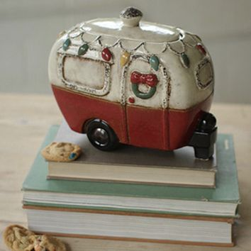 Cookie Jar Holiday Van