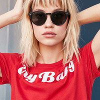 Coastal Round Sunglasses | Urban Outfitters