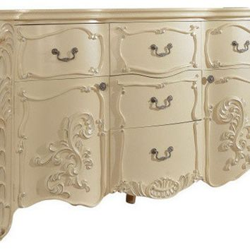 Monaco Antique White Dresser