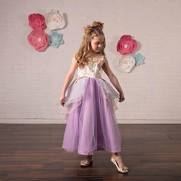 Unicorn Lavender Purple Tulle Gown Dress