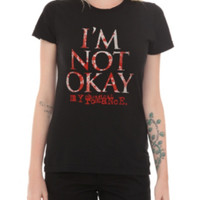 My Chemical Romance I'm Not Okay Girls T-Shirt