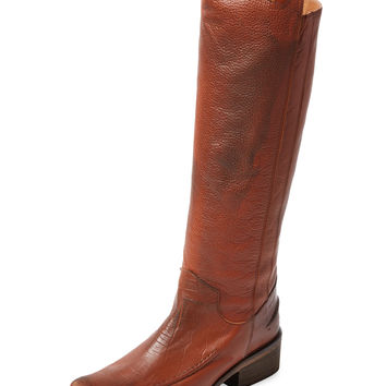 Free People Women's Tritone Tall Boot - Cognac -