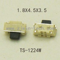 20PCS SMT 2X4MM 2PIN Tactile Tact Push Button Micro Switch Self-Reset Momentary  for phone side push button/MP3/MP4