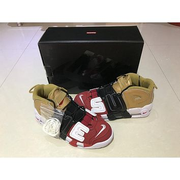 Supreme Air More Uptempo 902290-002 Size 40-46
