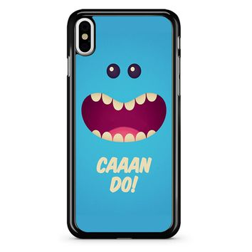 Rick And Morty Mr Meeseeks - Caaan Do iPhone X Case