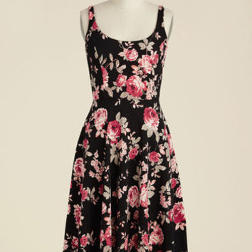 Blossoms Up Floral Dress | Mod Retro Vintage Dresses | ModCloth.com