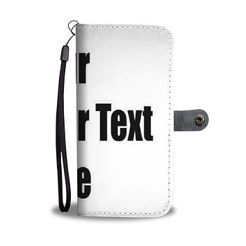 Personalized Wallet Case with Full Color Artwork, Photo or Logo