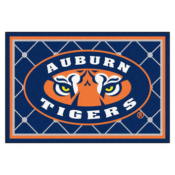 Auburn Tigers NCAA Floor Rug (60x96) Tiger Eye