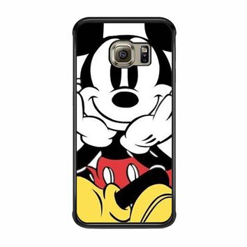 Disney Cute Mickey Mouse House of Mouse Protective Samsung Galaxy S6 EDGE Case