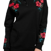 Volcom Burned Down Embroidered Hoodie | Nordstrom