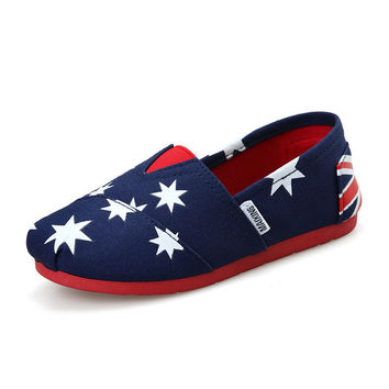 Children Canvas Shoes Boys Girls Sneakers Slip-On Loafers Flat Shoes Plimsolls Kids Baby Espadrilles (Toddler/Little Kid)