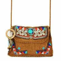 Boho Faux Leather Bag