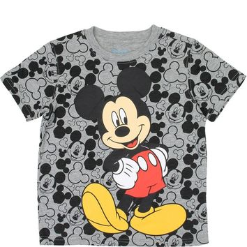 Mickey Mouse Grey T-Shirt  4-7