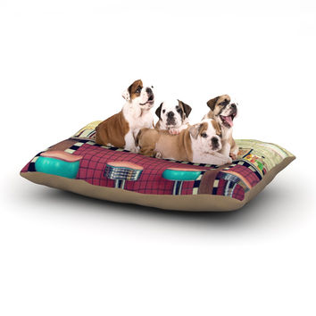 "Sylvia Cook ""Retro Diner"" Coca Cola Dog Bed"