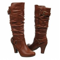 Madden Girl Poche Womens Size 10 Brown Synthetic Fashion - Mid-Calf Boots
