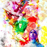 Red Hot Chili Peppers Art