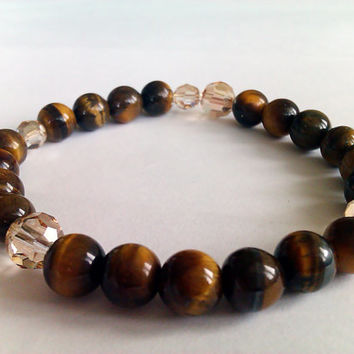 Prayer bead bracelet,Success Bracelet,Good luck Bracelet,healing bracelet,chakra bracelet,wrist mala,buddhist bracelet,Tiger eye bracelet