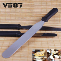 New 43cm Cake Decorating Tool Stainless Steel Spatula