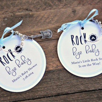 Wine Charm Favors for Baby Showers